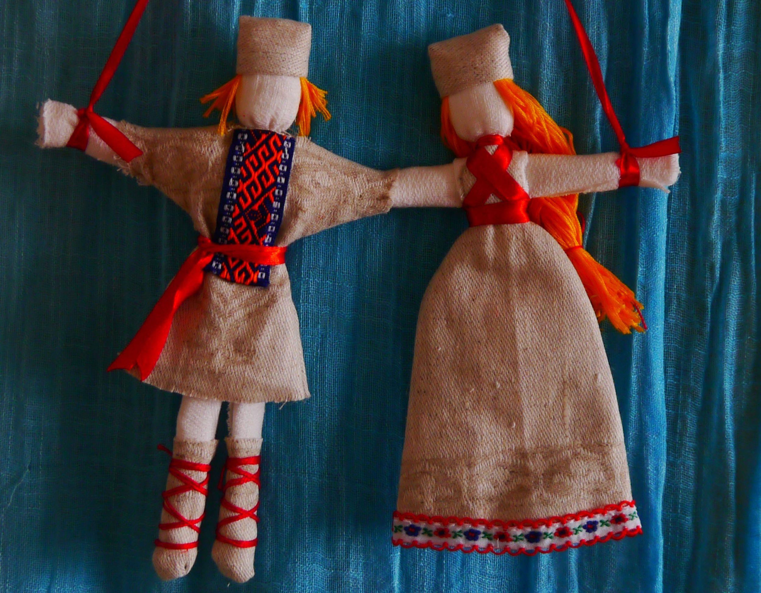 Мастер класс кукла оберег своими руками из ткани 58