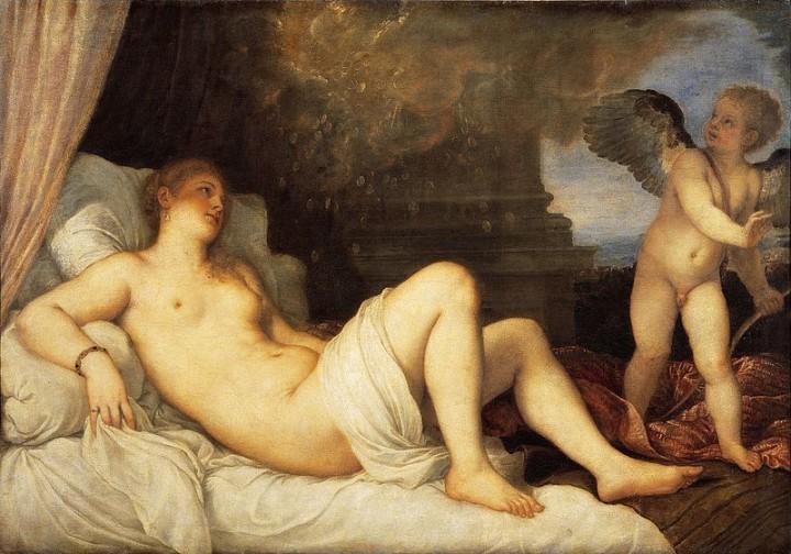 Даная (итал. Danae; 1545—1546) — картина Тициана.